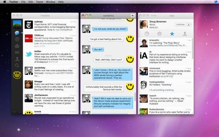 newtwittermac 720x450 - Twitter encerrará suporte ao macOS