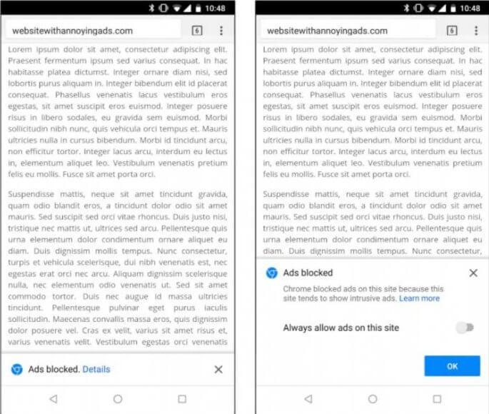 screenshot 20180216 124603 - Chrome ganha bloqueador de anúncios nativo; entenda como funciona