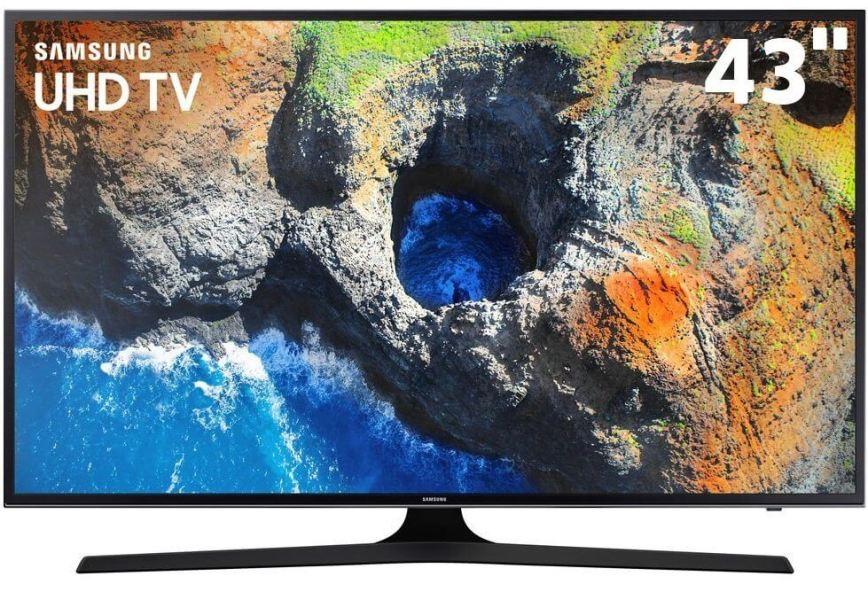 smarttv 43 4k samsung 43mu6100 hdraforma view espelhamento s D NQ NP 721399 MLB26295273348 112017 F - Smart TV: confira os modelos mais buscados no ZOOM em fevereiro