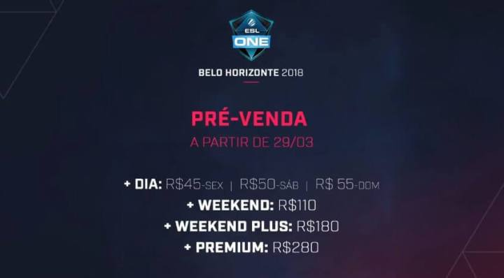 ESL One Belo Horizonte 2018