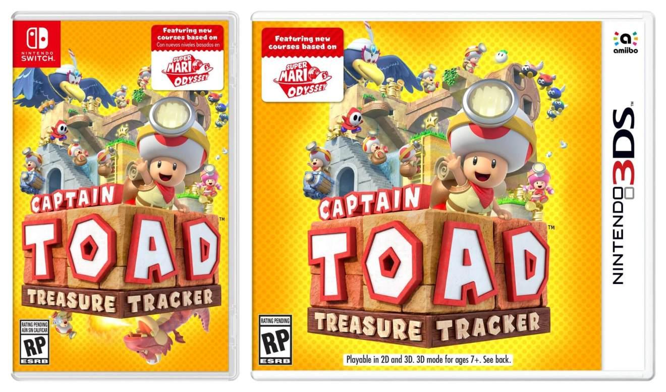 captain toad boxarts - Nintendo revela novidades e surpresas na última Nintendo Direct