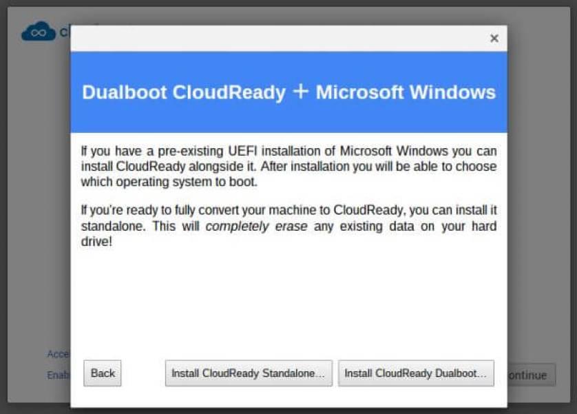 cloudready dual - Como transformar seu notebook velho em um Chromebook de graça