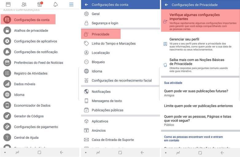 Como garantir que o Facebook não distribua seus dados 8