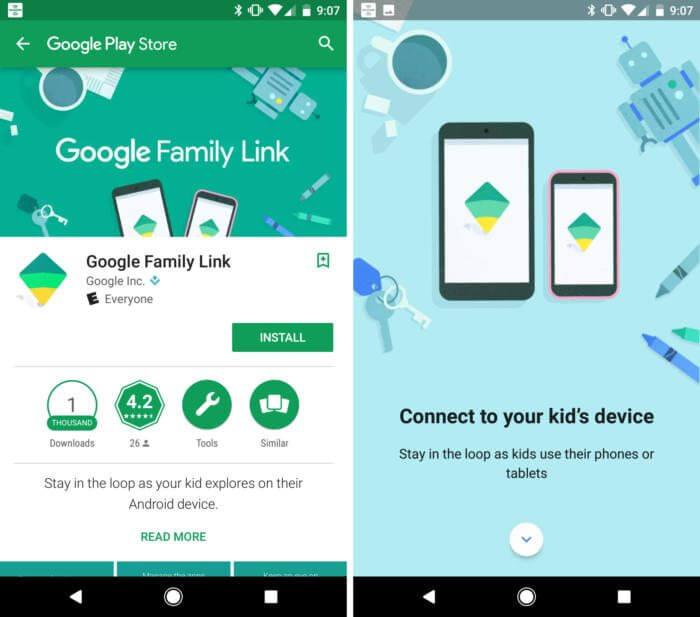 Google lança Family Link, app que controla o acesso de crianças em contas mobile 7