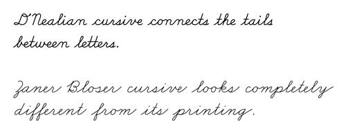 Precisamos aprender caligrafia cursiva? 8