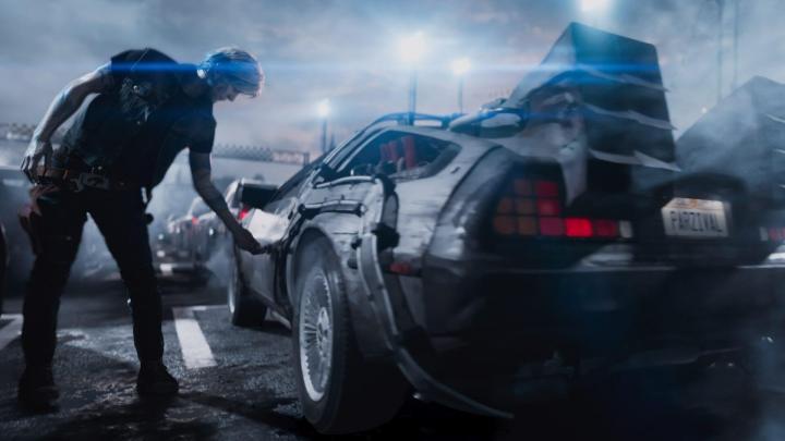 parzival delorean ready player one z2421 720x405 - Crítica: Jogador Nº 1: Spielberg une com maestria nostalgia e tecnologia