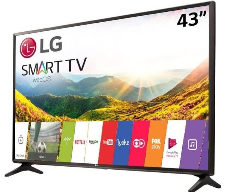 smart tv tv led 43 lg full hd 43lj5550 2 hdmi photo179387257 12 26 12 e1521770886528 - Smart TV: confira os modelos mais buscados no ZOOM em março
