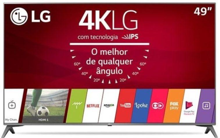smart tv tv led 49 lg 4k hdr netflix 49uj6565 4 hdmi photo193431298 12 3f 32 e1519348648652 - Smart TV: confira os modelos mais buscados no ZOOM em março