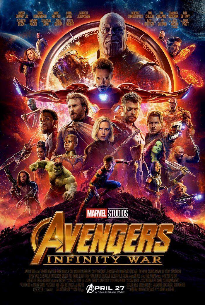 Confira o novo trailer e pôster de Vingadores: Guerra Infinita 4