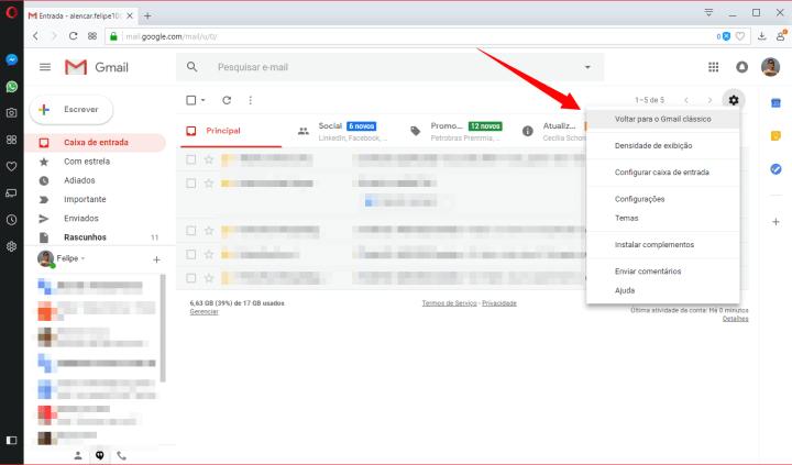 6 720x423 - Tutorial: Como ativar o novo design do Gmail