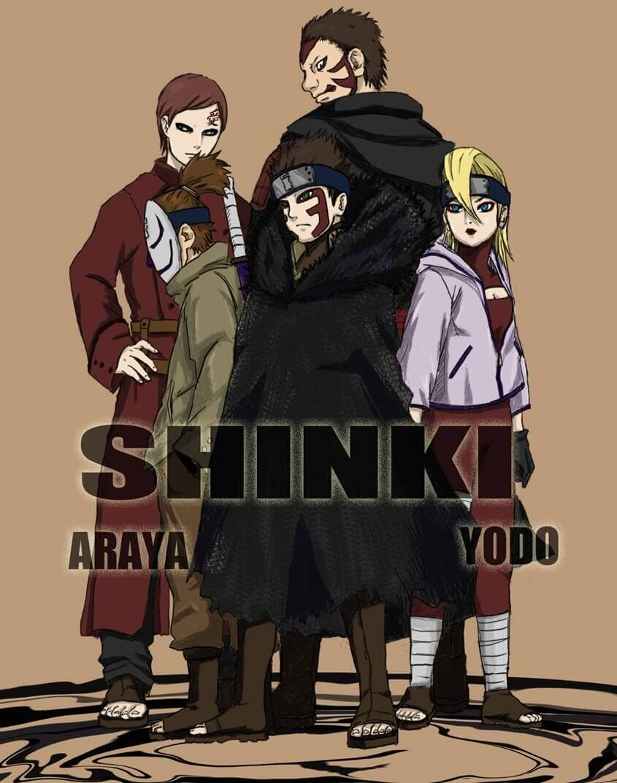 Boruto: Naruto Next Generations apresenta o filho de Gaara, o Kazekage 9