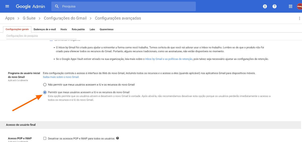 Como ativar o novo visual do Gmail corporativo (G Suite) 11