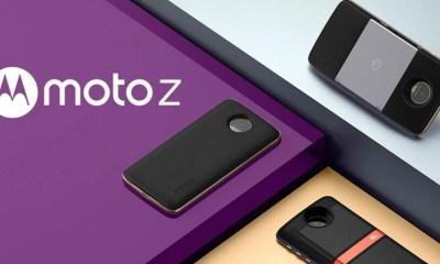 Moto Z - Novo Moto Z3 Play aparece em imagem vazada