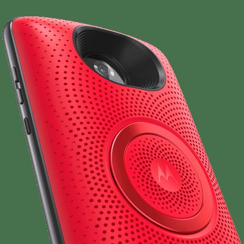 MotoSpeaker Cherry CameraDetail 1200x1200 - Motorola lança Snap de alto-falante estéreo por R$ 399,00