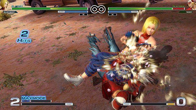 Sambo Blue Mary 2 - The King of Fighters XIV terá Blue Mary como personagem em DLC