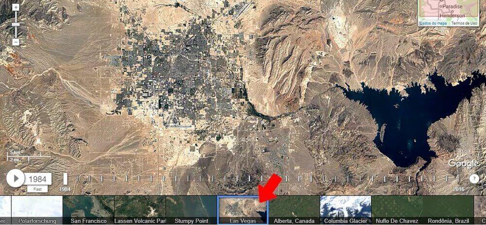 Confira as mudanças em sua cidade com o Google Earth 8