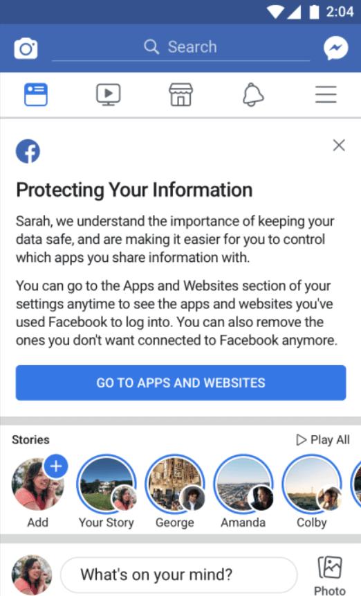 esquerda - Saiba se seus dados do Facebook foram roubados pela Cambridge Analytica