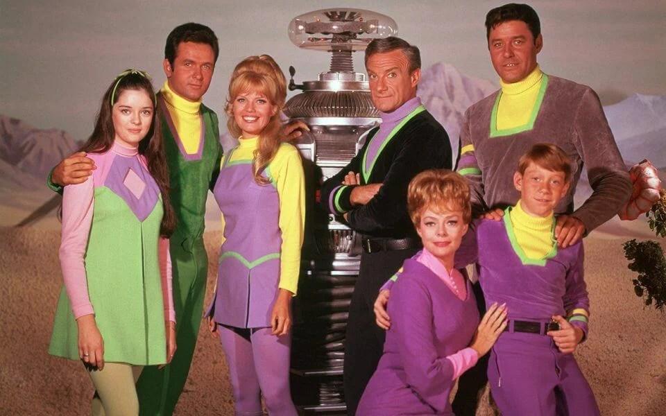 A família Robinson de Perdidos no Espaço de 1965