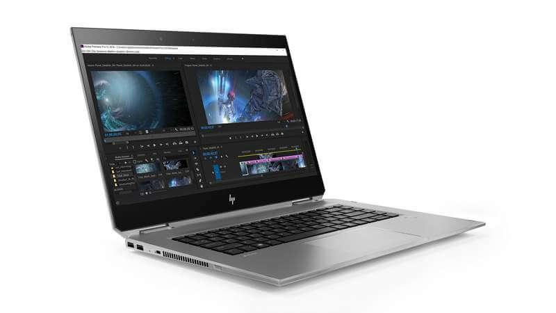 hp - HP apresenta ZBook Studio x360 G5, o 2 em 1 mais potente do mercado