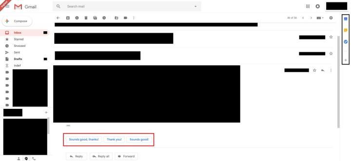Vazam imagens do novo Gmail 7