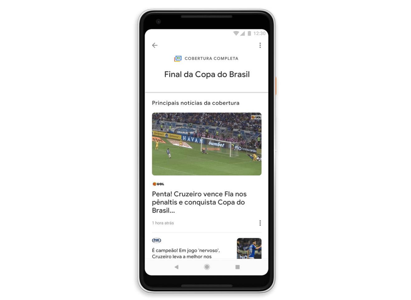 Google I/O: inteligência artificial também está no novo Google Notícias