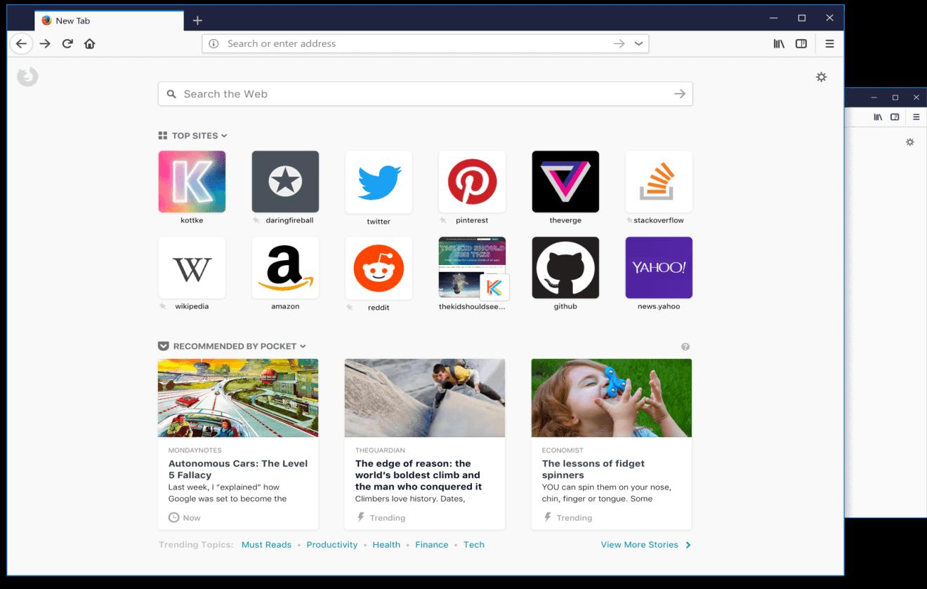 Mozilla Firefox terá anúncios na página inicial em breve 6