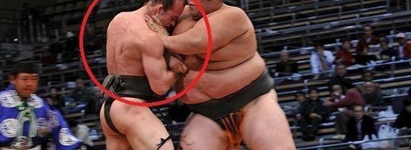 Luchador de sumo delgado