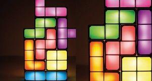 Original Lámpara Tetris