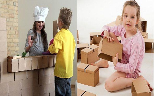 Bloque de construcción de cartón XXL