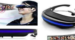Gafas virtuales con reproductor de vídeo