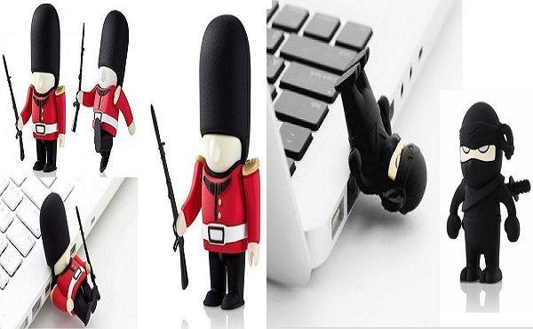 Memoria USB Soldado y Ninja