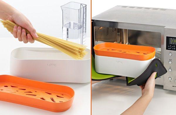 tupper cocinar microondas pasta