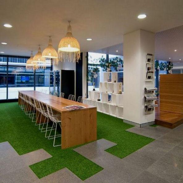 oficina cesped artificial