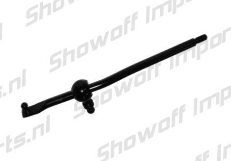 Showoff Imports :: Suzuki Swift 05+ Short Shifter Black [SIX]