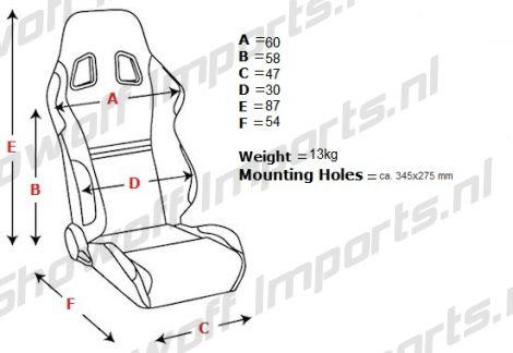 Showoff Imports :: SPL-Tuning Adjustable Racing Seat Black