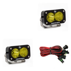 S2 Pro Pair Driving/Combo LED Amber Baja Designs