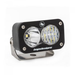 LED Work Light Clear Lens Driving Combo Pattern Each S2 Sport Baja Designs