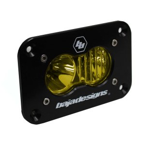 S2 Sport LED Driving/Combo Amber Flush Mount Baja Designs