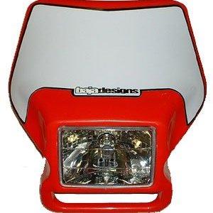 Motorcycle Headlight 04 Red Baja Designs