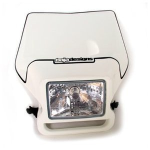 Motorcycle Headlight White Baja Designs