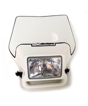 Motorcycle Headlight White Baja Designs