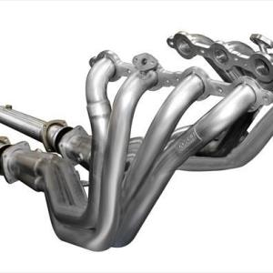 Long Tube Headers w/Connection Pipes 1.75 Inch x 3.0 Inch Catless Extreme Plus Sound Level 2004 Chevy Corvette C5 5.7L V8 Stainless Steel Corsa Performance