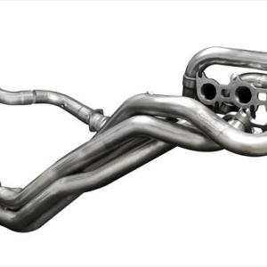 Long Tube Headers w/Connection Pipes 1.875 Inch x 3.0 Inch Catless Xtreme Plus Sound Level 15-17 Ford Mustang GT 5.0L V8 Stainless Steel Corsa Performance
