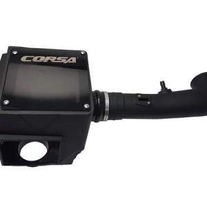 Silverado/Sierra Closed Box Air Intake With MaxFlow 5 Oiled Filter For 14-19 Silverado/Sierra 1500/Tahoe/Suburban/Yukon Corsa