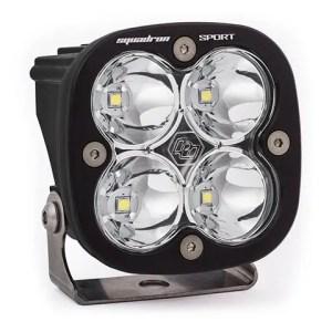 LED Light Pod Spot Pattern Clear Black Squadron Sport Baja Designs