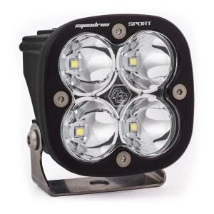 LED Light Pod Work/Scene Pattern Clear Black Squadron Sport Baja Designs