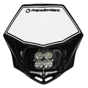 Motorcycle Race Light LED DC Black Squadron Sport Baja Designs