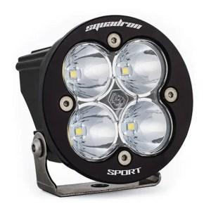 LED Light Pod Clear Lens Work/Scene Pattern Each Squadron R Sport Baja Designs