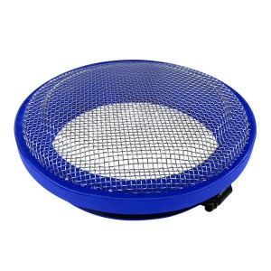 Turbo Screen 4.0 Inch Blue Stainless Steel Mesh W/Stainless Steel Clamp S&B
