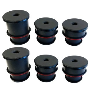 Silicone Body Mount Kit For 1980-1996 Ford F-150 and 1980-1997 F-250 / F-350 6 Pc S&B